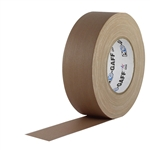 Pro Tapes 2 Inch x 55 Yards Pro Gaffer Tape - Tan