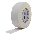 Pro Tapes 2 Inch x 55 Yards Pro Gaffer Tape - White