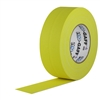 Pro Tapes 2 Inch x 55 Yards Pro Gaffer Tape - Yellow