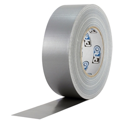 "ProTapes Pro Duct 120 PE-Coated Cloth Premium Industrial Grade Duct Tape, 60 yds Length x 2"" Width - Silver"