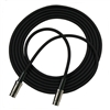 RapcoHorizon QPM Black Cable (2) MIDI Male Wired 5 Pin Active - 1 Foot