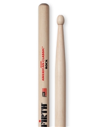 Vic Firth ROCK American Classic Rock Hickory Drumsticks Wood Tips