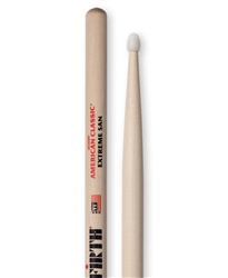 Vic Firth X5AN American Classic Extreme 5A Nylon Hickory Drumsticks Nylon Tips