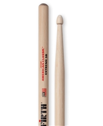 Vic Firth X5B American Classic Extreme 5B Hickory Drumsticks Wood Tips