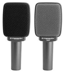e 609S Supercardioid Instrument Microphone (Silver)