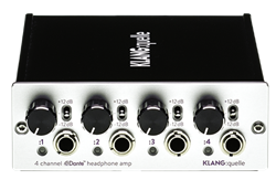 KLANG : quelle 4 Channel Dante Network Headphone Amp - Rack Mount