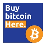5x5 in Buy Bitcoin Here Decal