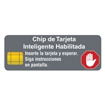 Spanish EMV Decal