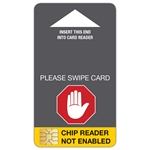 Chip Reader Coming Soon - Point of Sale Insert