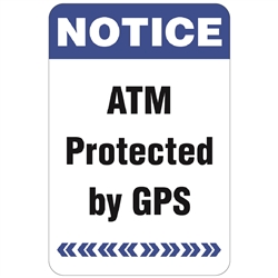 "GetBranded.com-2"" X 3"" GPS Protected Decal"