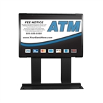 GetBranded.com-Custom ColorBrilliance Hantle / Tranax Mini Bright ATM Graphic Topper Insert (15 x 10)