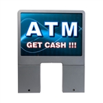 GetBranded.com-Custom ColorBrilliance Genmega M ATM Graphic Topper Insert (15 x 10)