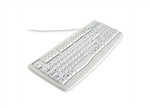 Kensington - Pro Fit - USB Washable Keyboard (White)(USB) | K64406US