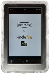 Used for Infection Control & Equipment Protection, the Klear Kase 4.1 LifeProof Kindle Fire Case KK4 can be cleaned by washing with soap and water, sanitized or disinfected.