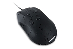 Washable Optical Mouse with Optical Scroll Wheel (USB/PS2) (Black) | OMWK0C01-BK