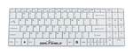 Used for Infection Control & Equipment Protection, the Clean-Wipe Medical Grade Chiclet Keyboard SSWKSV099 can be cleaned by washing with soap and water, sanitized or disinfected.