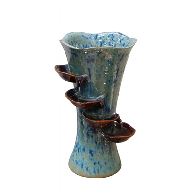 Ceramic Vase Fountain