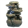 Rock Fountain with LED Light
