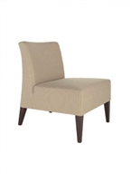Cassandra Armless Lounge Chair