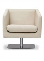 Edwin Lounge Chair Swivel Base