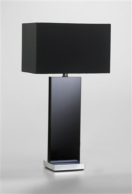 Black Vista Table Lamp