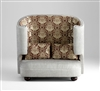 Damask Loveseat