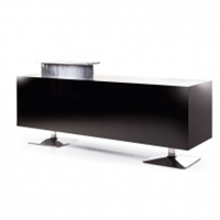 Black Torix Reception Desk