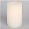 "6"" Flameless Pillar - White"