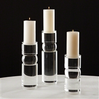 Polar Crystal Candle Holders