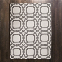 Arabesque Rug Grey