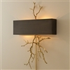 Twig Bronze and Brass Wall Sconce