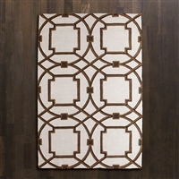 Arabesque Rug Mocha