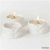 Scallop Tealights