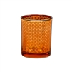 Arabesque Orange Votive