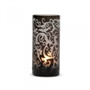 Scroll Votive Black