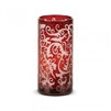Scroll Votive Red