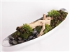 Large Driftwood Centerpiece with Succulents