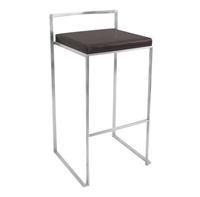 Fuji Wenge Stacker Bar Stool