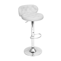 White Royale Bar Stool