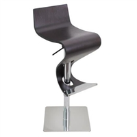 Viva Bent Wood Bar Stool *