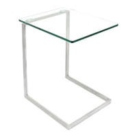 Zenn Glass End Table