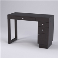 Linea Manicure Table - Two Drawers