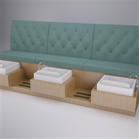 Girls Best Friend Pedicure Bench