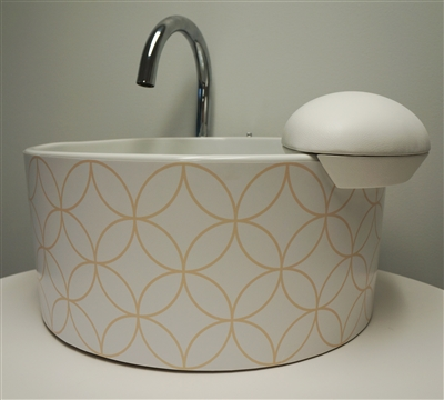 Cirque Pedicure Sink - Mode Motif Collection