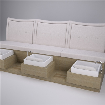 Social Butterfly Pedicure Bench