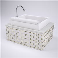 Meandros Pedicure Sink Vanity