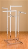 "Four Way Clothing Rack - 16"" Arms"