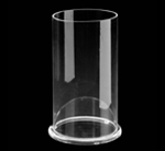 Acrylic Cylinder with Base