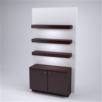 Retail Wall Panel with Storage