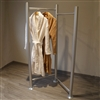 Stainless 2-Rod Apparel Display